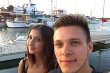 Merci à Christopher et Pauline pour ce beau selfie! (Août 2017)