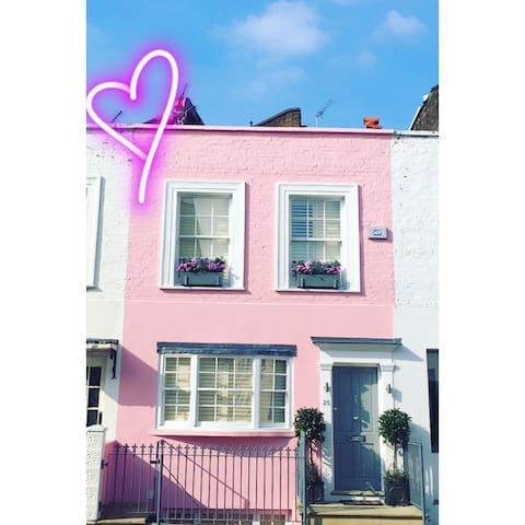 The Pink House in Notting Hill - London - Hus