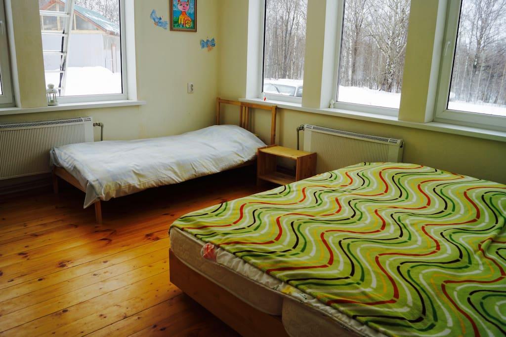 спальня 3 человека