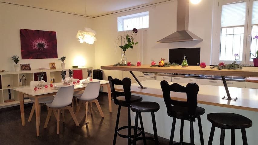 Loft-Apartment in the center of Stuttgart - Stuttgart - Apartemen