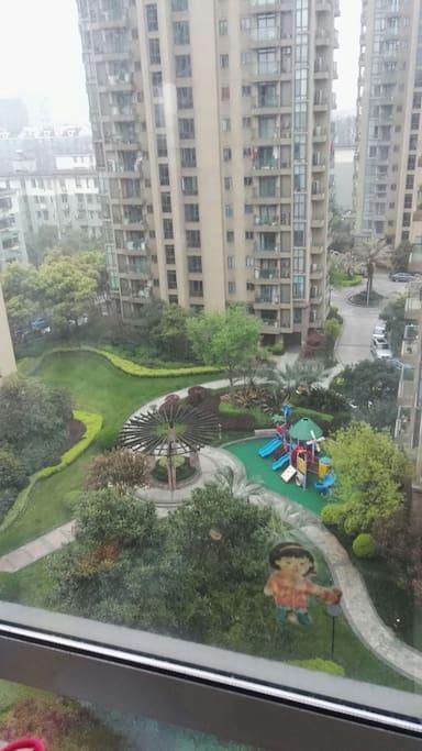 市中心不可多得的景观花园
