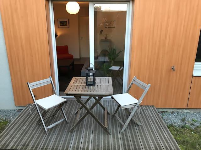 T2 récent Nantes sud proche Busway - Nantes - Apartment