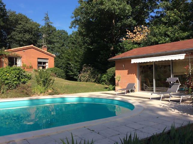 Magnifique villa d'architecte - Pont-de-Larn