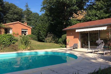 Magnifique villa d'architecte - Pont-de-Larn - Huis