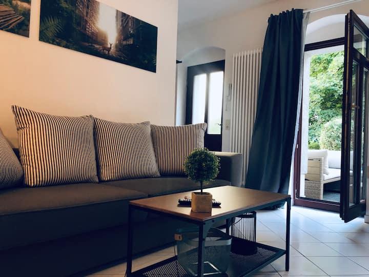 2 Raum Apartment mit Terrasse Dresden Altstadt