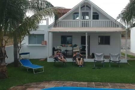 Cabaña de playa, en Chachalacas Veracruz (Wifi)