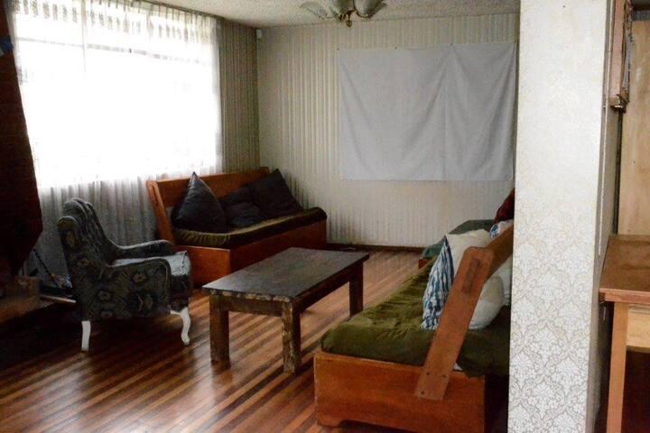 habitación muy cómoda y tranquila