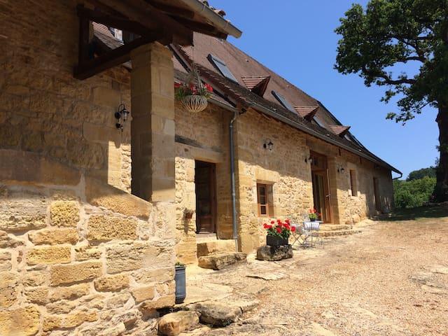 La Roussille Oak Barn ideal for families & couples