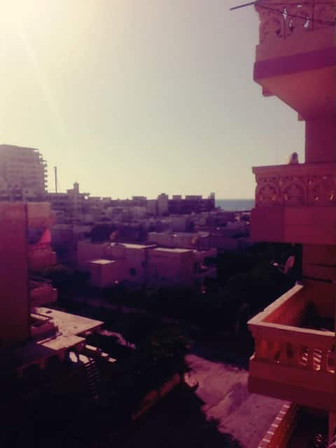 Furnished apartment in Agami Alexandria
