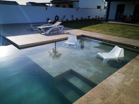 Casa la gitanilla 2 agradable casa rural con piscina