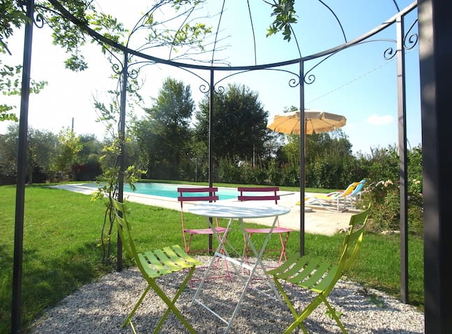 La Graziosa private house with pool - Fratta-santa Caterina - บ้าน