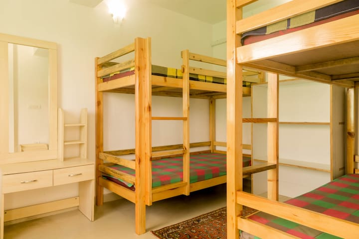 Golden Cypress Twin Bunks: A pocket-friendly stay!
