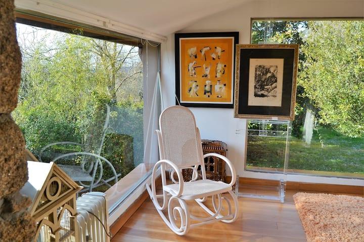 Lujosa casa señorial en magnifico entorno.