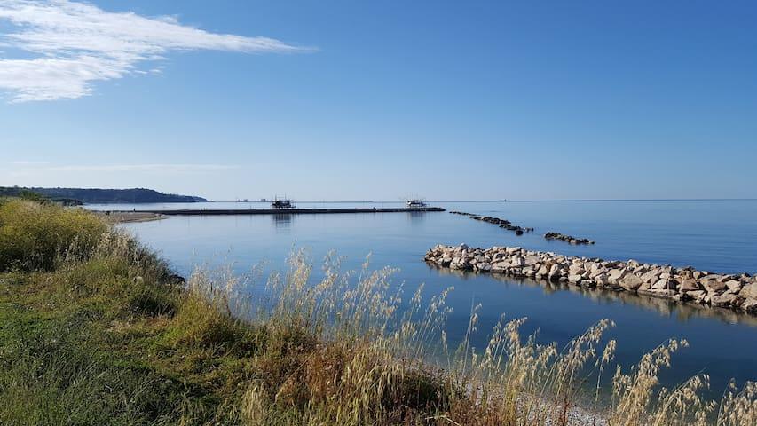 Casa vista mare sulla Costa dei Trabocchi