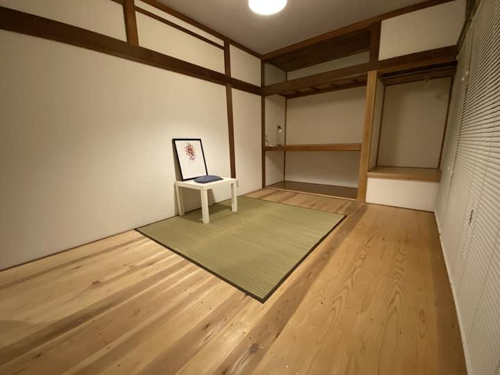 会津の観光地に位置するmooiなゲストハウス