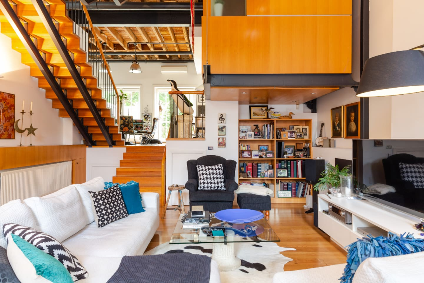 One-of-a-kind home in a landmark factory conversion