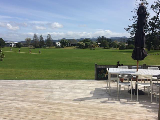 Park side beach pad - Pauanui - House