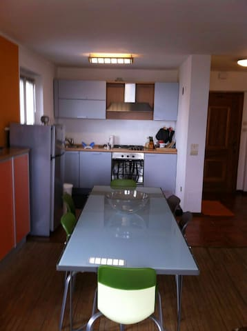 Apartment 3 bedrooms in the center Folgaria - Folgaria - Apartamento