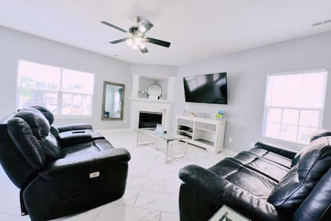 ☆Spacious |4 Room☆near Nature Trail | Fire Pit|BBQ