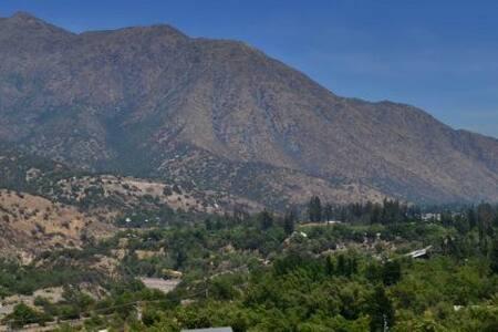 Cabaña en montaña los maitenes