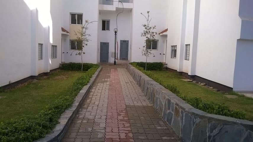 appartement près de la mer avec piscine residence - Bouznika