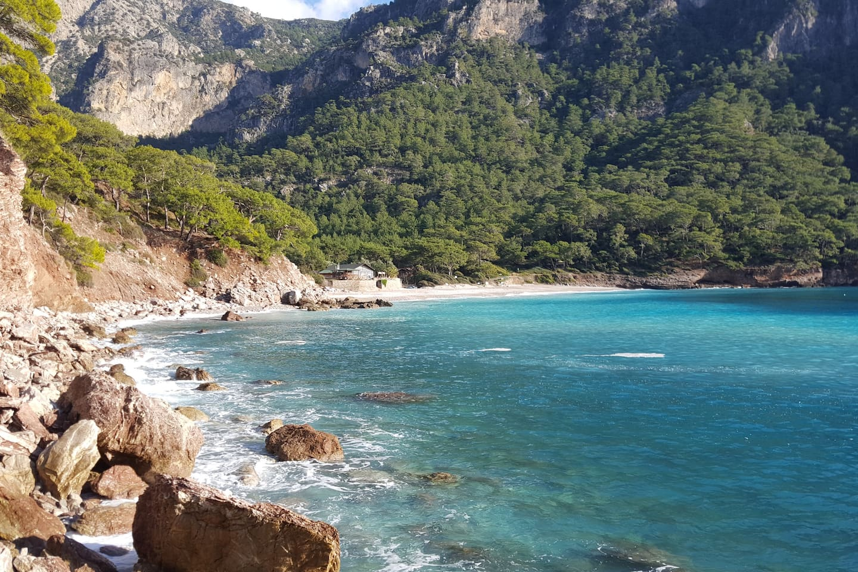 kabak  beach , lycan way