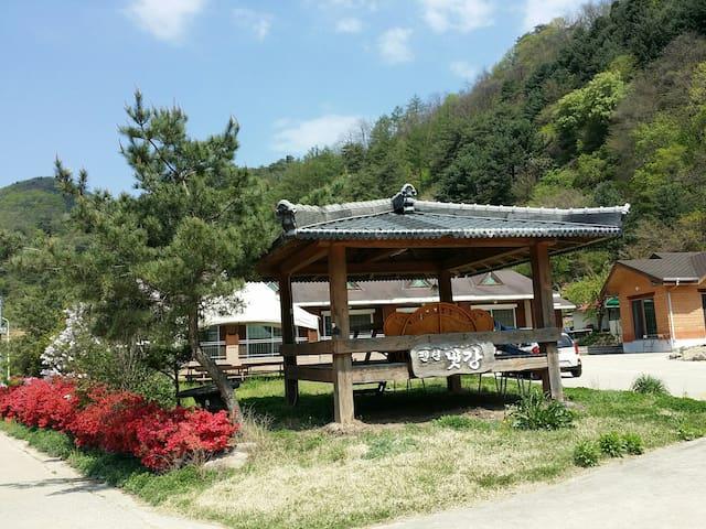 가슴을 뻥 뚜러주는 공기좋은 새골방 - Buk-myeon, Inje - Rumah
