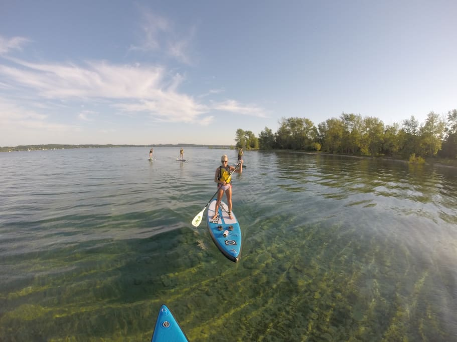 We run a company that provides guided paddleboard tours and lessons. Let us know when you book if you're interested in a tour!