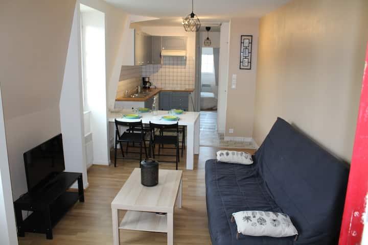 Appartement rénové - Plein centre ville Honfleur