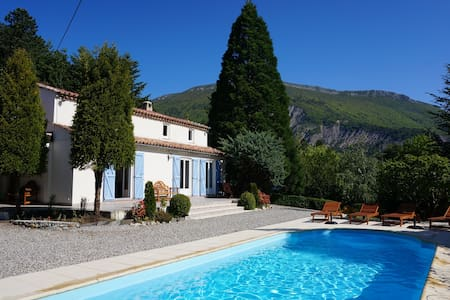 Beautiful 4* Villa in Northern Provence with pool - Aspres-sur-Buëch - Villa