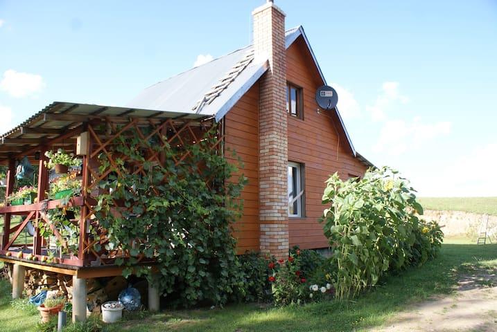 Dom ,Wigry jezioro, Suwalszczyzna