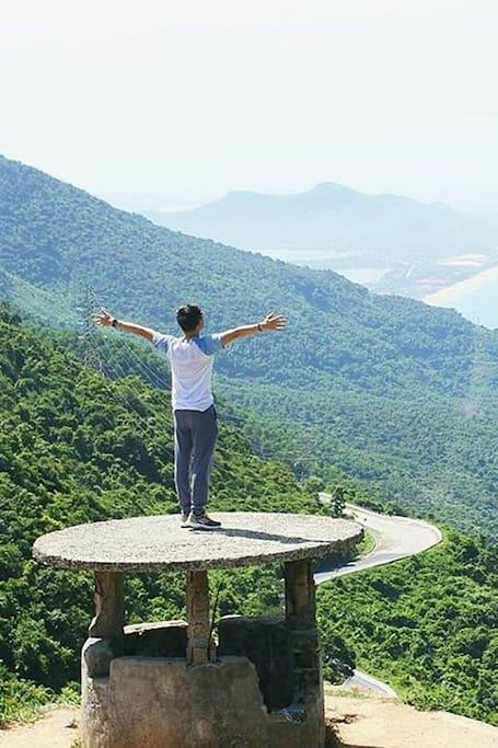 Top of Hai Van Pass
