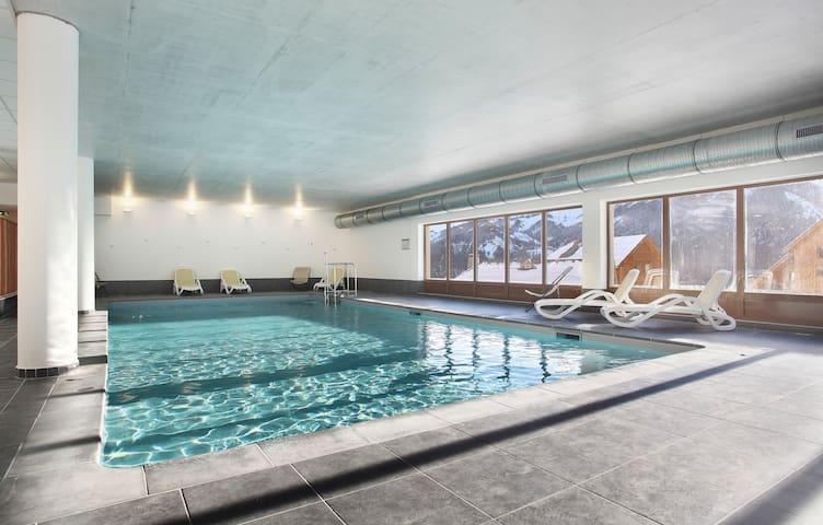 Appartement avec Balcon, et Accès Piscine | A 5 mins des remontées
