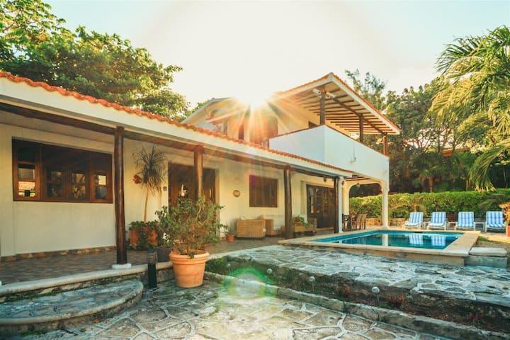 Casa Amor, Playacar, Villa a 42 pasos de la playa