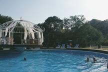 swimming-chilling pool