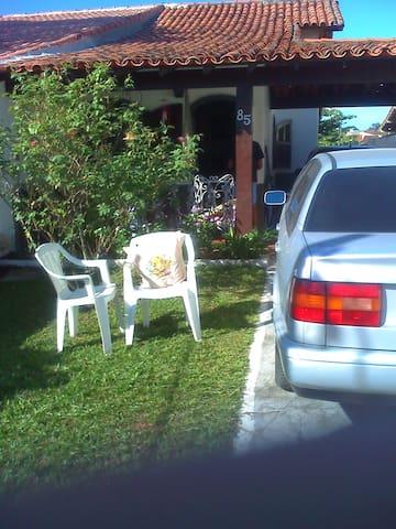 casa iguaba grande mobiliada , 2 qts, coz, gar - Iguaba Grande - House