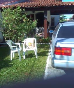 casa iguaba grande mobiliada , 2 qts, coz, gar - Iguaba Grande - 独立屋