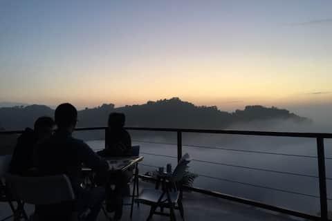 Приватна вілла Olsen View Cloud Sea Night View Camping Mix