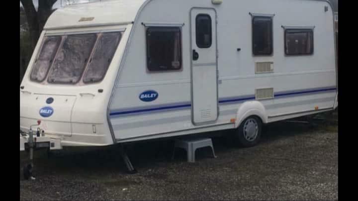 Caravan near Glasgow ideal for COP26