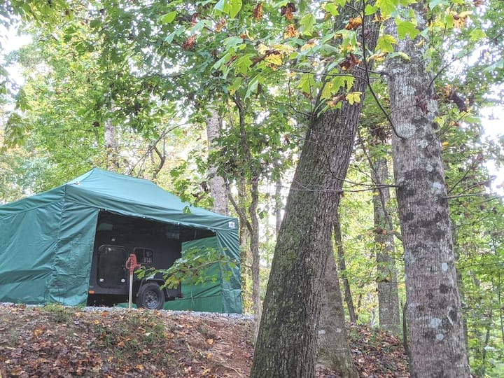 Rugged in the Wilderness - N. Ga Glamping!