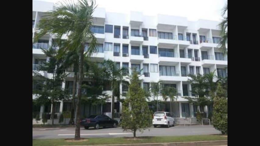 New Studio Apartment @ Harbour Bay - Batu Ampar - Apartament