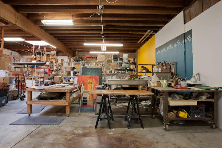Imagine: Day Space in Artist Studio - San Francisco - Other