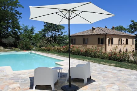 Geweldig vakantiehuis met zwembad - Fratte Rosa - 独立屋