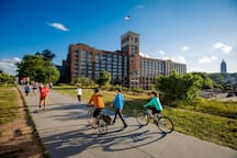 Take a jog, ride a bike, or hop on a Bird or Lime scooter down the ATL Beltline