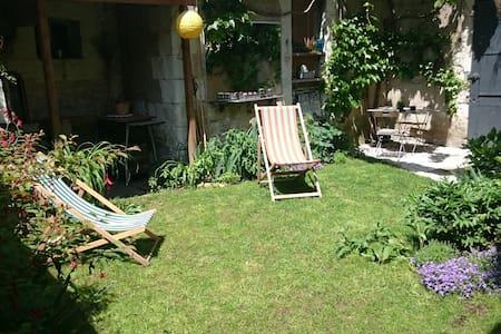 Touraine Val de Cher maison+jardin - Bléré