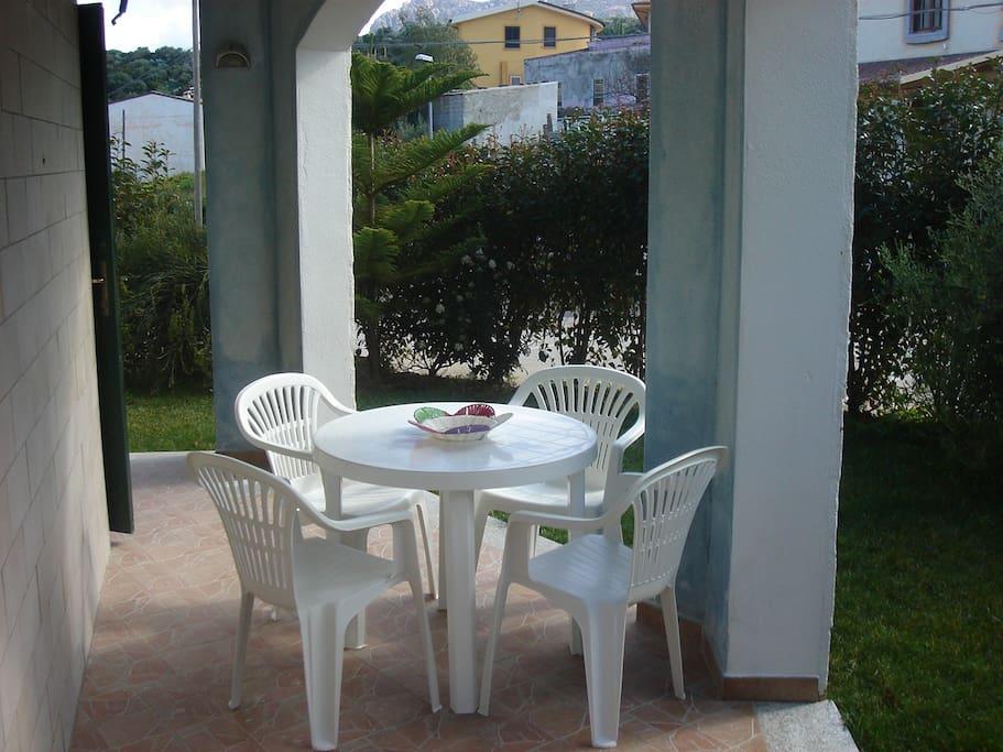 Tavolo esterno per 4 persone
