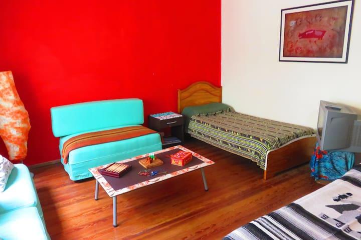 Hab Privada Casa Centro amplia tranquila luminosa - Rosario