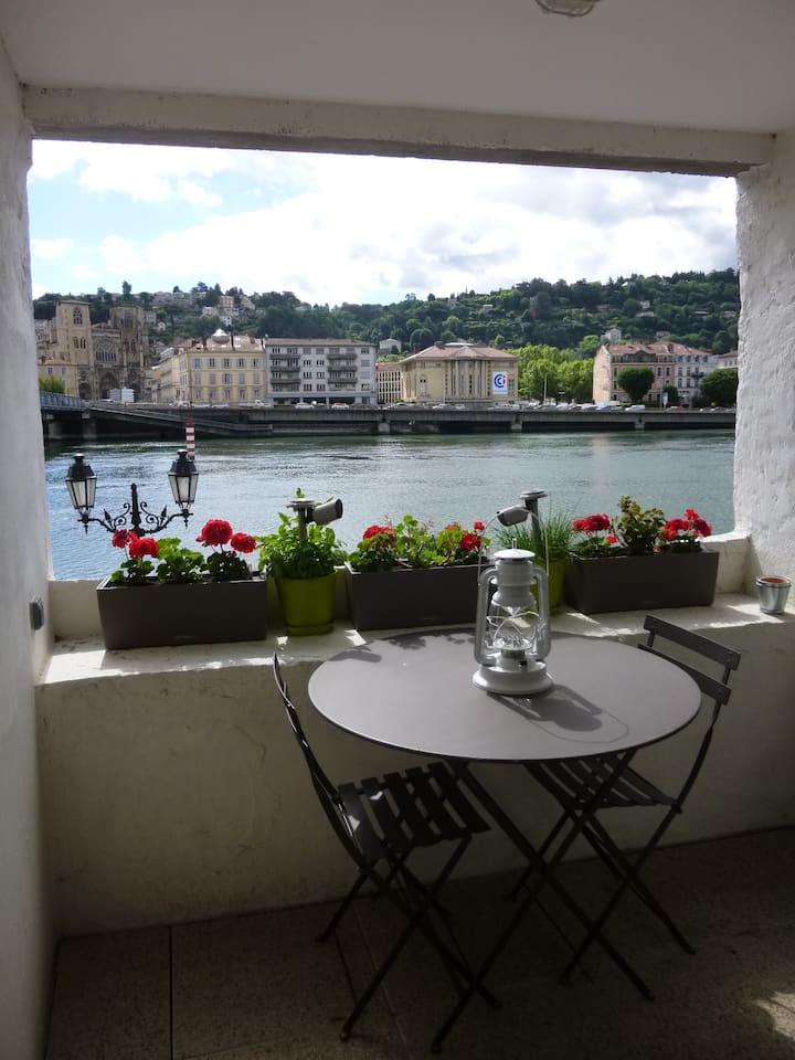 Terrasse du Rhône, joli T2