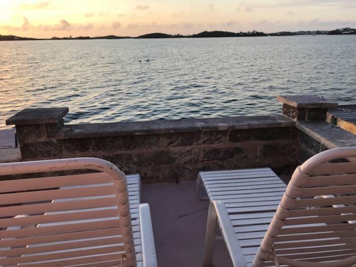 Waterfront-  Pool - Breakfast at Granaway