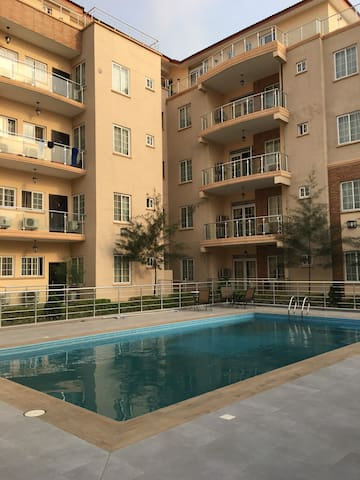 Cosy En-suite Room in Modern Flat (VI/Oniru) - Lagos - Daire